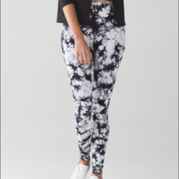 28c7748cd6 lululemon athletica Pants | Lululemon Tie Dye Leggings | Poshmark